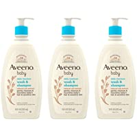 Aveeno Baby Gentle Body Wash & Shampoo with Natural Oat Extract, Tear-Free, Paraben-Free & Phthalate-Free Formula for…