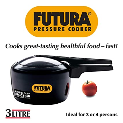 d87bb1ff6fe Buy Hawkins Futura Pressure Cooker with Induction Base
