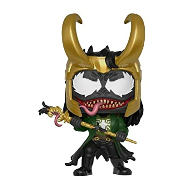 Funko Pop Marvel: Venom - Venomized Loki Collectible Figure, Multicolor: Toys & Games