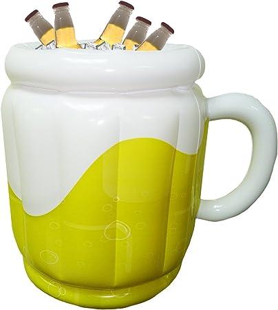 Simplemente llene con hielo y agua,Forma de una jarra de cerveza gigante,Fácil de usar,Perfecto para