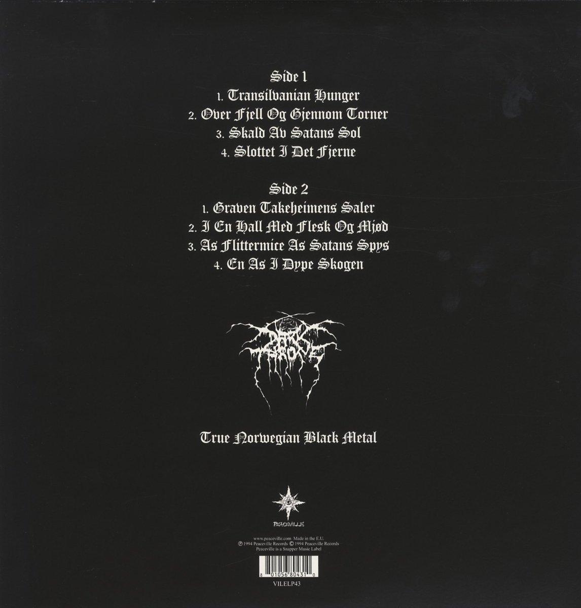 1ab901b1fde Transilvanian Hunger  Vinyl LP   Amazon.de  Musik