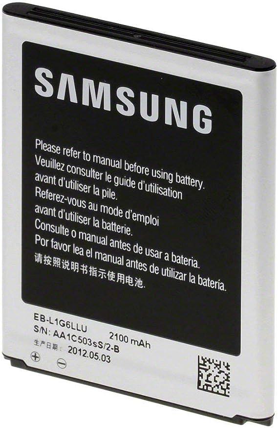 Bater/ía para SAMSUNG S3 I9300 Mobile Needs EB-L1G6LLU 2100/mAh