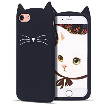 coque silicone chat iphone 7