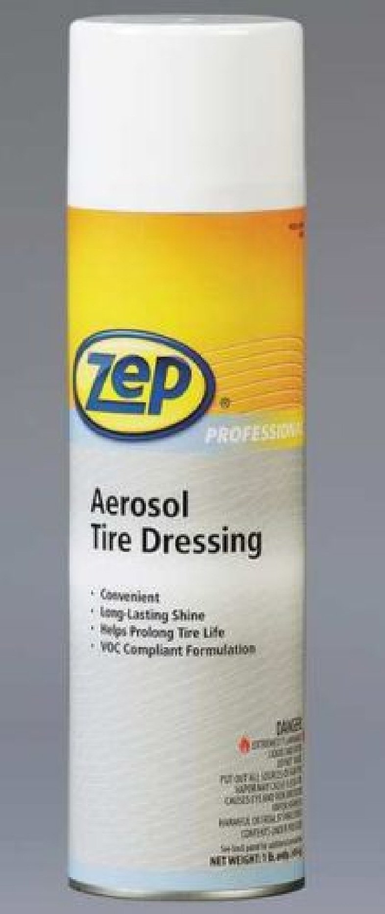 Zep Professional R08401 Tire Dressing Aerosol - 12 Pack