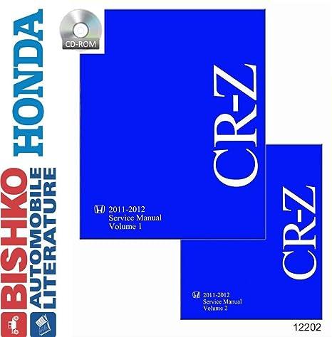 amazon com 2011 2012 honda cr z shop service repair manual cd rh amazon com 2013 honda cr z owner's manual honda cr-z service manual pdf