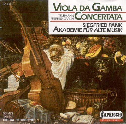 Telemann, G.P.: Overture (Suite) in D Major / Pfeiffer, J.: Viola Da Gamba Concerto / Graun, J.G.: Viola Da Gamba Concerto in D Major
