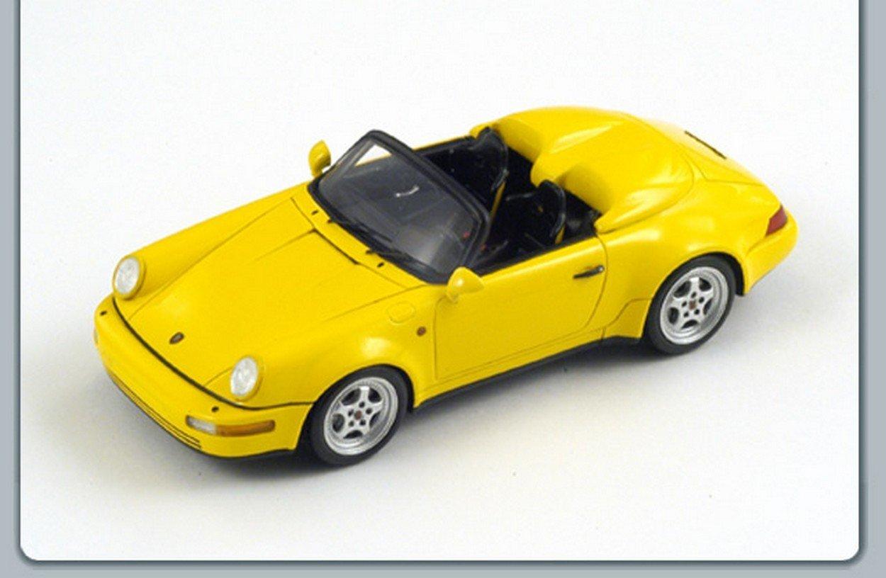 conveniente SPARK MODEL S2094 S2094 S2094 PORSCHE 964 SPEEDSTER TURBOLOOK 1993 YELLOW 1:43 DIE CAST  colores increíbles