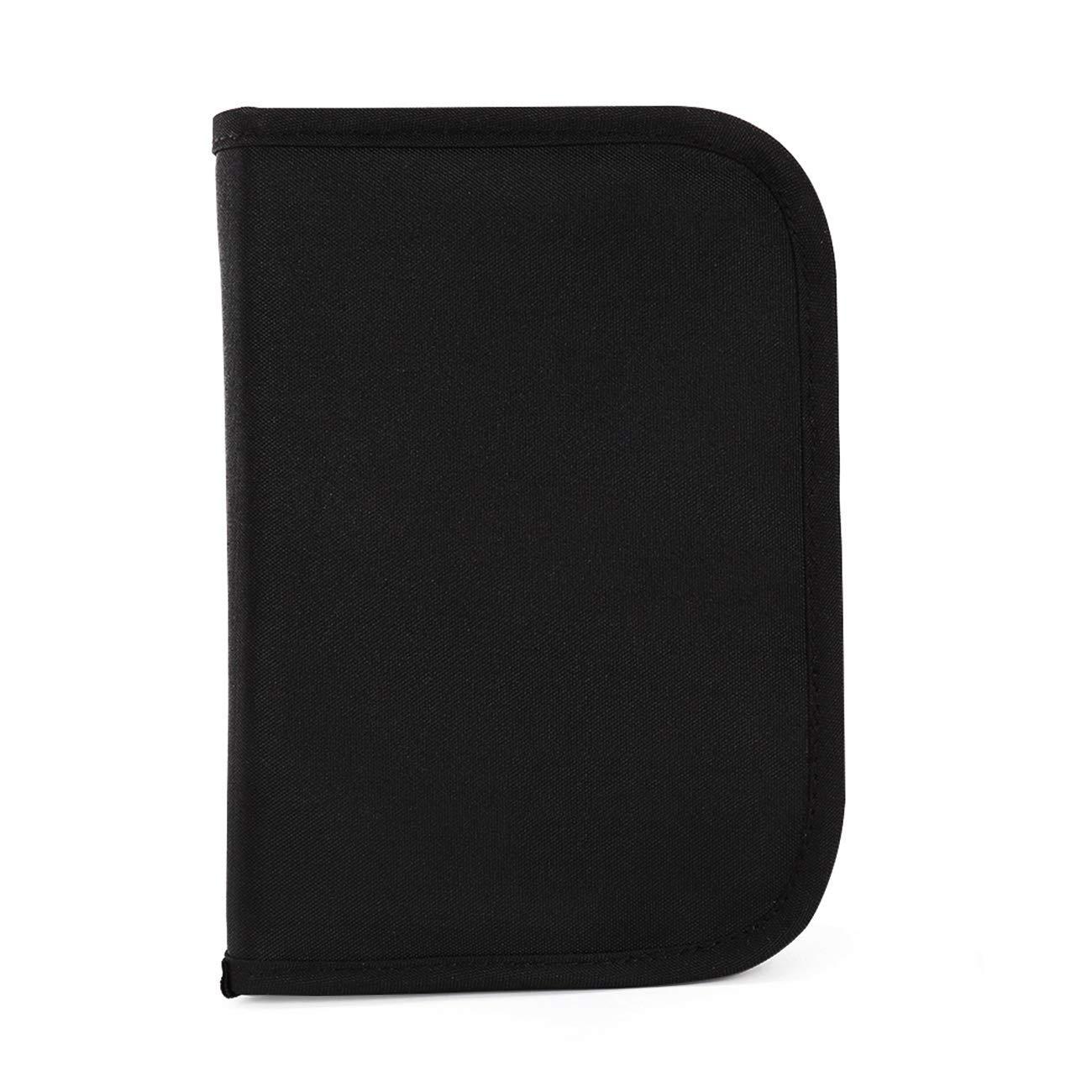 Liveasy Portable Passport Wallet, Travel Document Organizer, Passport Bag, Cash Holder, Credit Card Purse, Made with Durable Waterproof Nylon Fabric