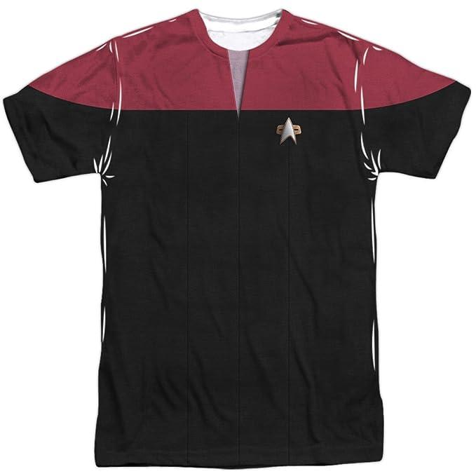 Star Trek Voyager Comando Uniforme del Hombre de sublimación ...