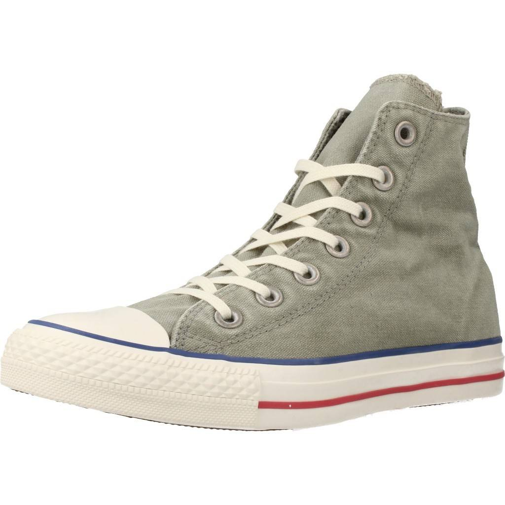 Converse CT AS HI Sneakers Bleach Vintage Canvas Col. Militare (Salvia) Uomo Mod. 160957 36 EU|Verde