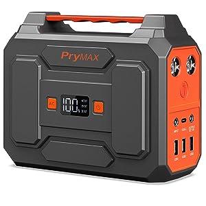 PRYMAX 167Wh AC出力100W ポータブル電源