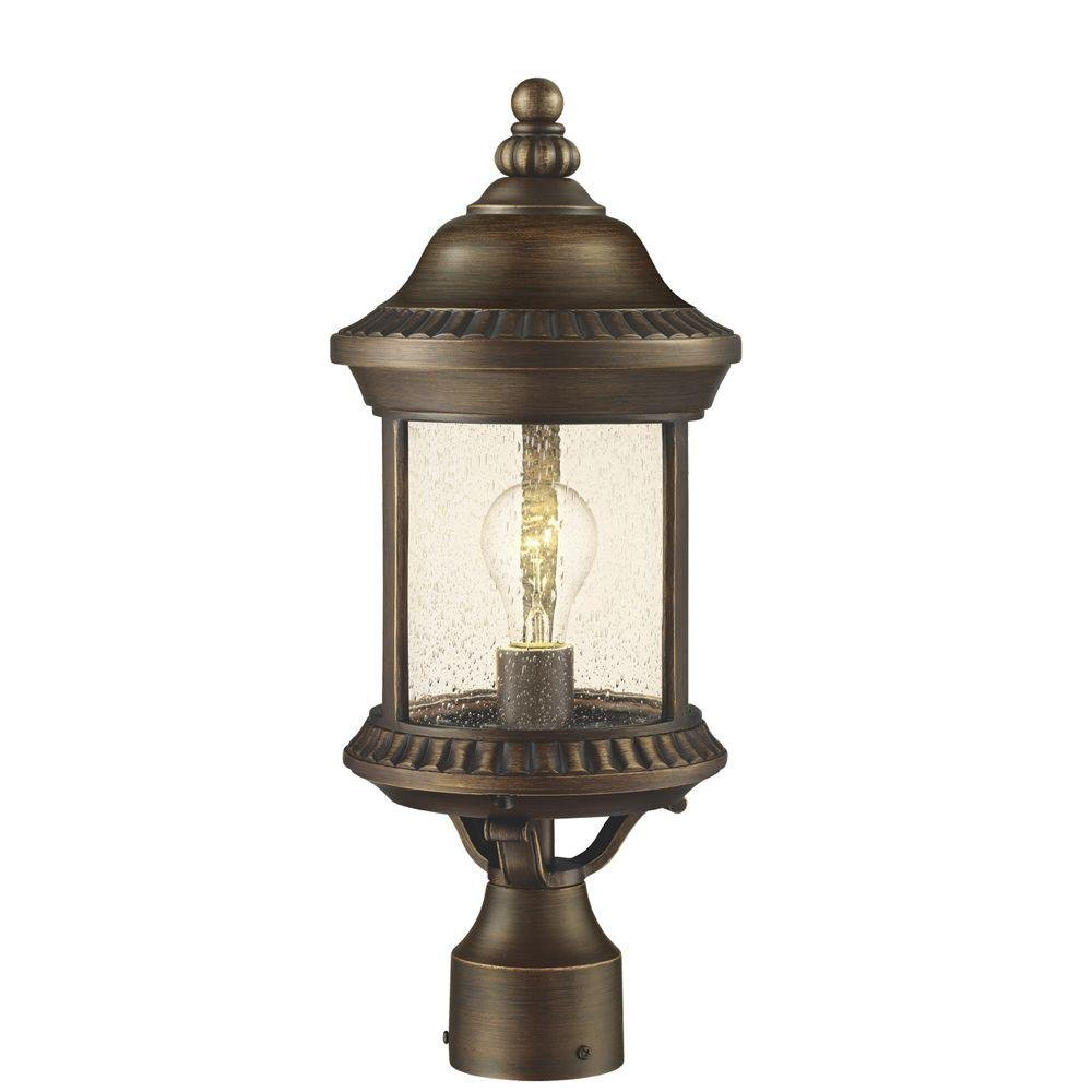 Home Decorators Collection Cambridge Collection Exterior Post Lantern