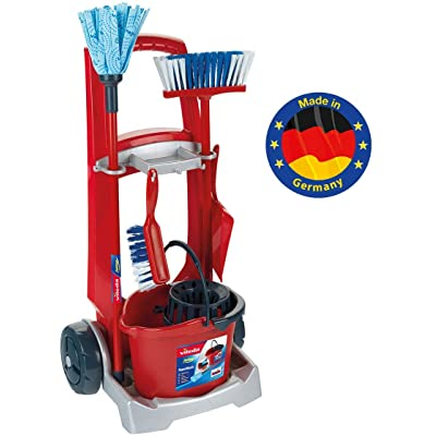 Theo Klein 6741 - Vileda Cleaning Trolley: Toys & Games