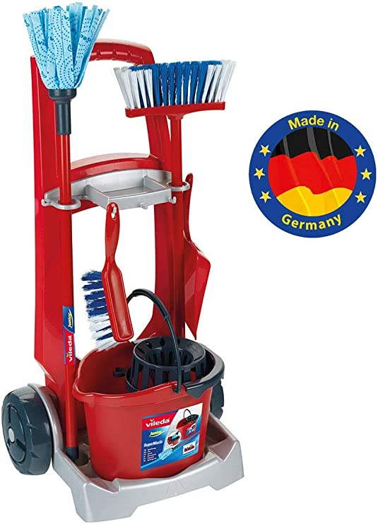 Theo Klein- Klein Cleaning Trolley Vileda Carro De Limpieza ...