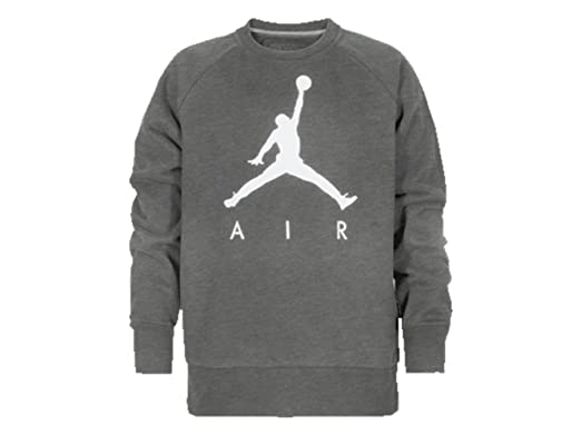 4cf398ebb4f4 Nike Air Jordan Jumpman Crew Neck Fleece Pullover Sweatshirt (Small
