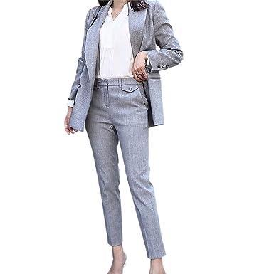 c5f9656a9bae2 パンツスーツ レディース セットアップ ズボン パンツスーツ スリム 通勤 事務服 結婚式 ビジネス用 おおきい
