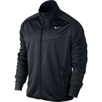 33b6a5025 Amazon.com: Nike Mens Epic Training Jacket, Black/Cool Grey, Medium ...