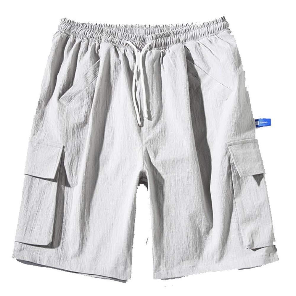 MMUJERY Pantalones Hombre-Pantalones Cortos Hombre-Pantalones de ...