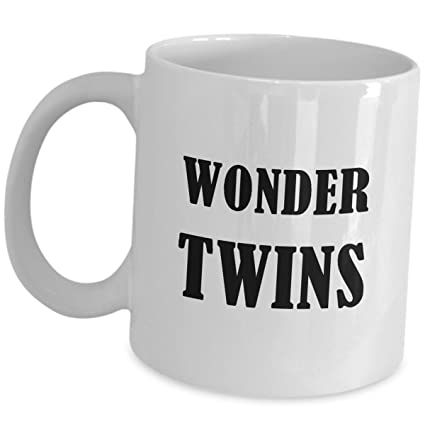 Twin Brother And Sister Gifts Funny Cute Coffee Mug