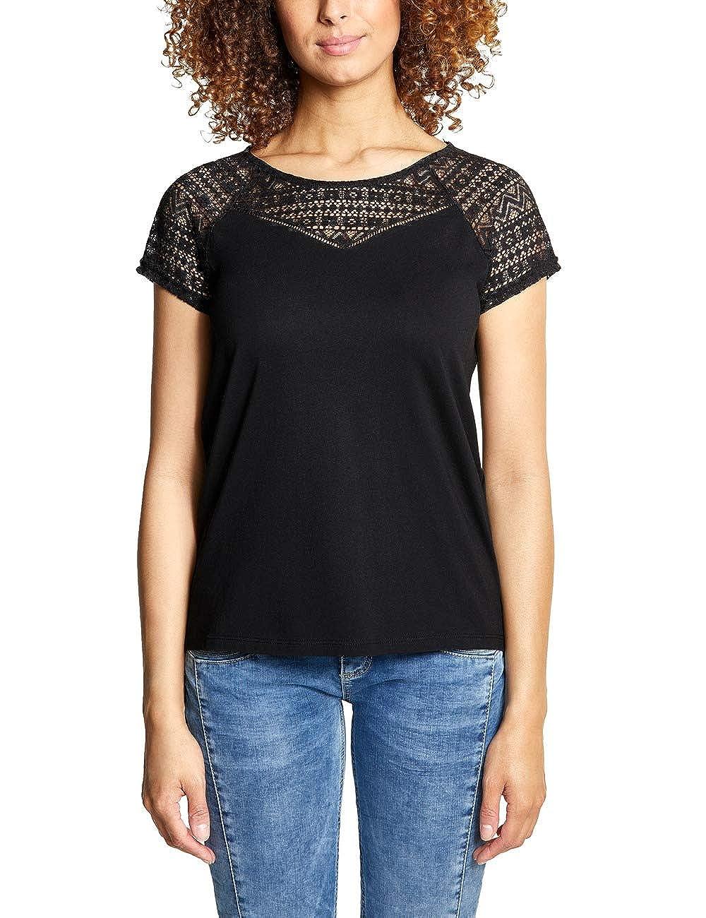 Black (Black 10001) Street One Women's TShirt