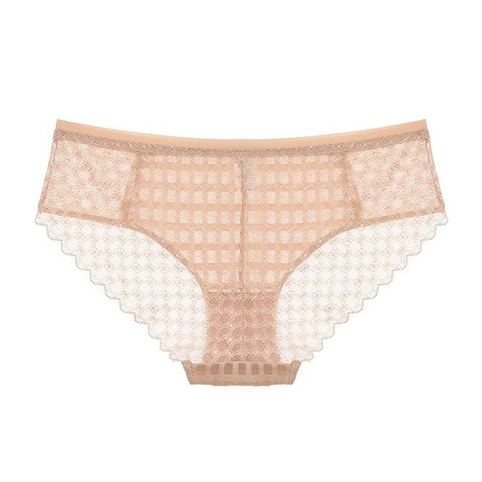 QHDZ Bikini de Mujer Calzoncillos Transparentes de la Ropa Interior de Las señoras Bragas Transpirables Atractivas: Amazon.es: Ropa y accesorios