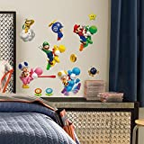 RoomMates RMK673SCS Nintendo Super Mario Peel and Stick Wall Decals