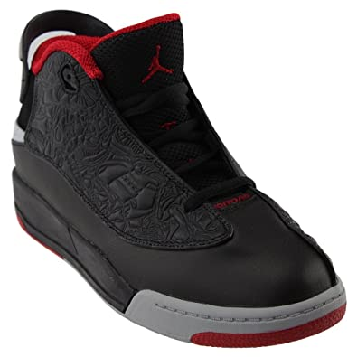 check out 61f92 40f03 Jordan Dub Zero Black Gym Red-Wolf Grey-White (Little Kid)