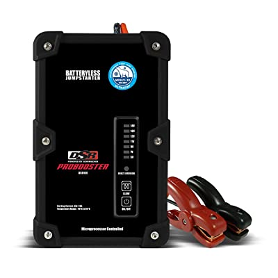 Schumacher DSR108 12V 450A Battery less Jump Starter: Automotive