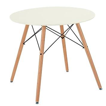 Hj Wedoo Table De Salle à Manger Scandinave Moderne Style Rétro En