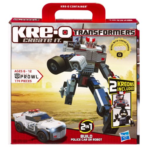 KRE-O Transformers Prowl Construction Set