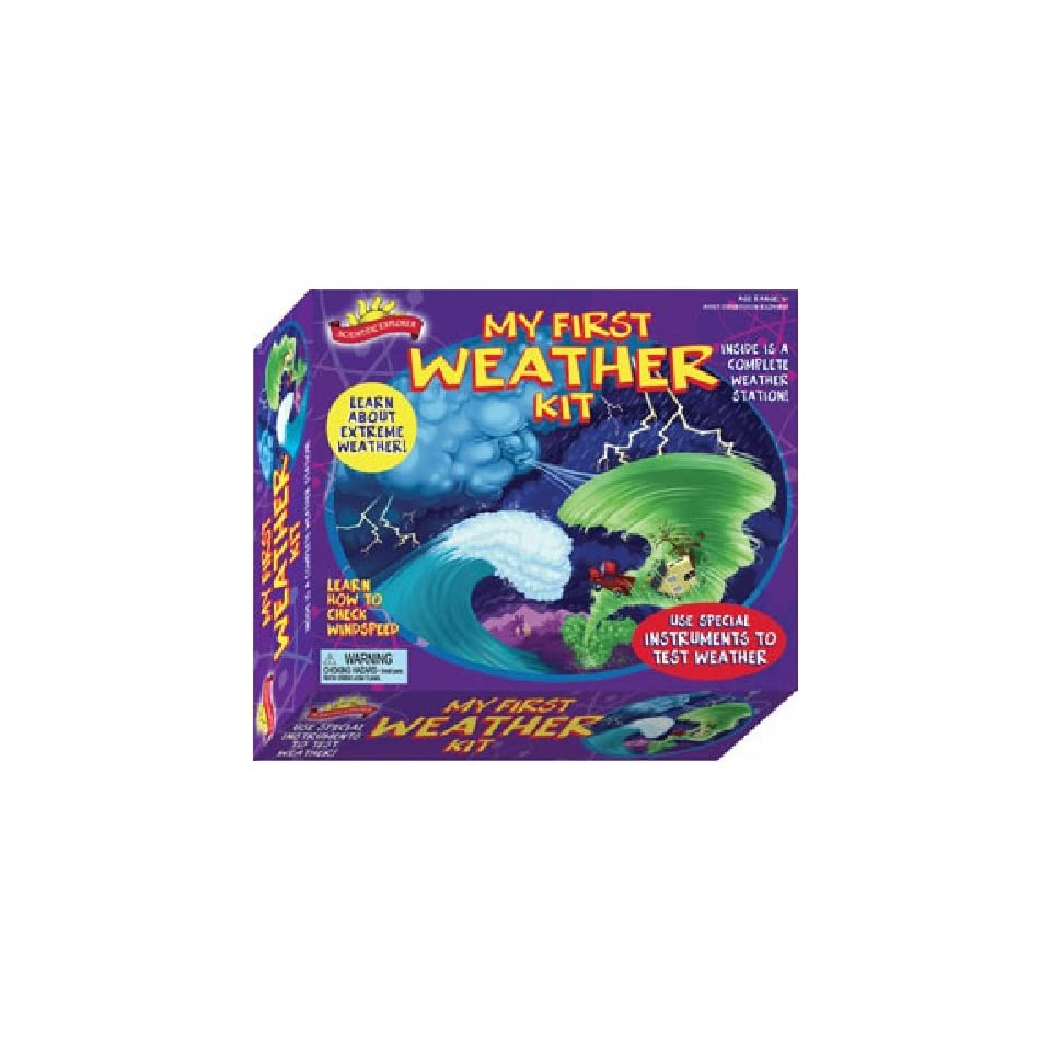 Scientific Explorers My First Weather Science and Learning Kit
