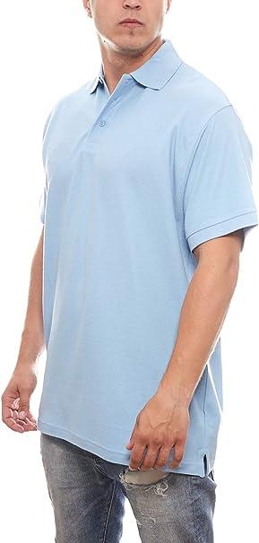 JINGHAM Polo de Manga Corta Camisa Polo para Hombre Fresco ...