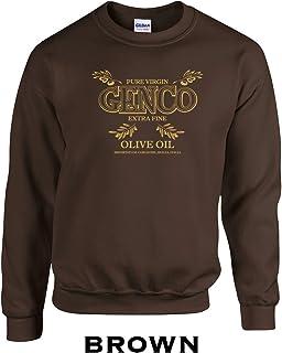 Swaffy Tees 187 Genco Oil Funny Hooded Sweatshirt