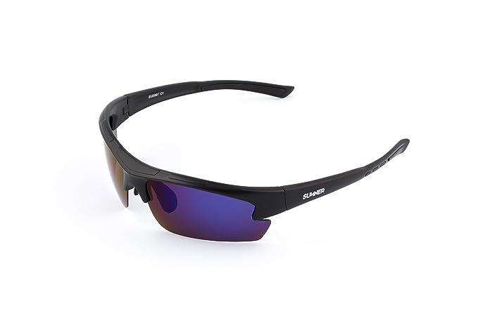 Sunner Gafas de Sol Deportivas Polarizadas SUS599 Súper Lígeras Para Hombre y Mujer Ideal Para Esquiar Golf Ciclismo Correr 5Fs3O
