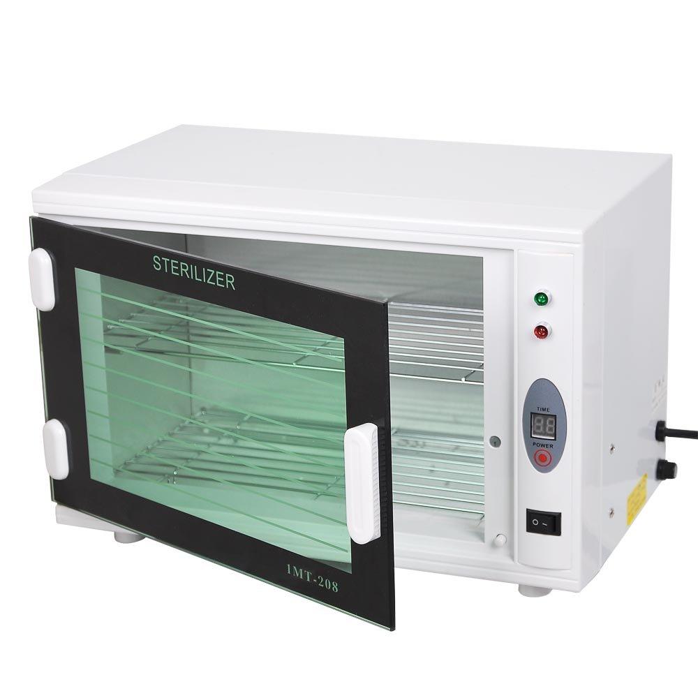 AW 8L UV Tool Sterilizer Cabinet with Timer Sterilization Manicure Nail Tool Facial Skin Beauty Salon Equipment