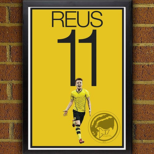 Amazon.com: Marco Reus Poster - Borussia Dortmund Soccer Art: Handmade