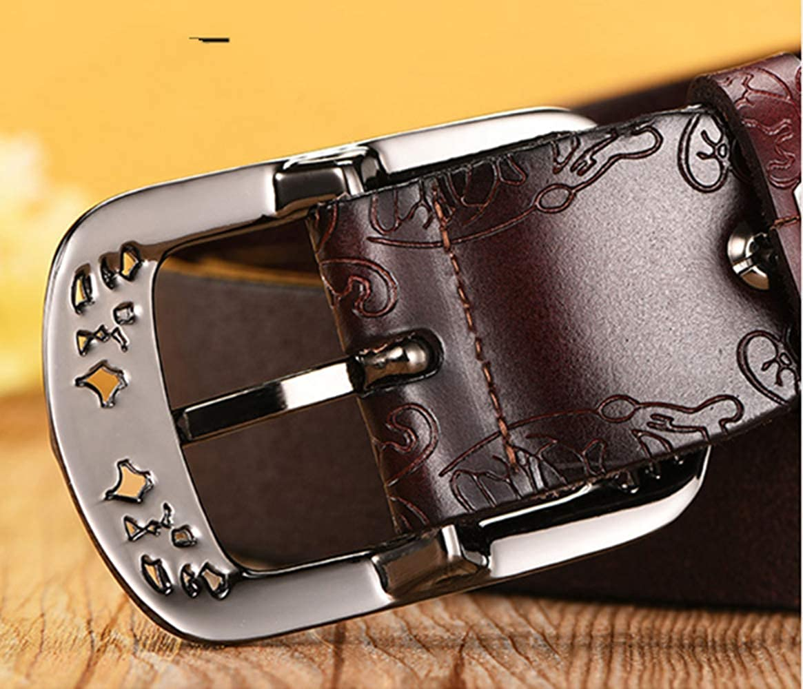 Han edition fashion leather embossed belt mixed wholesale womens restoring ancient ways Ms pin buckle leather belt belt