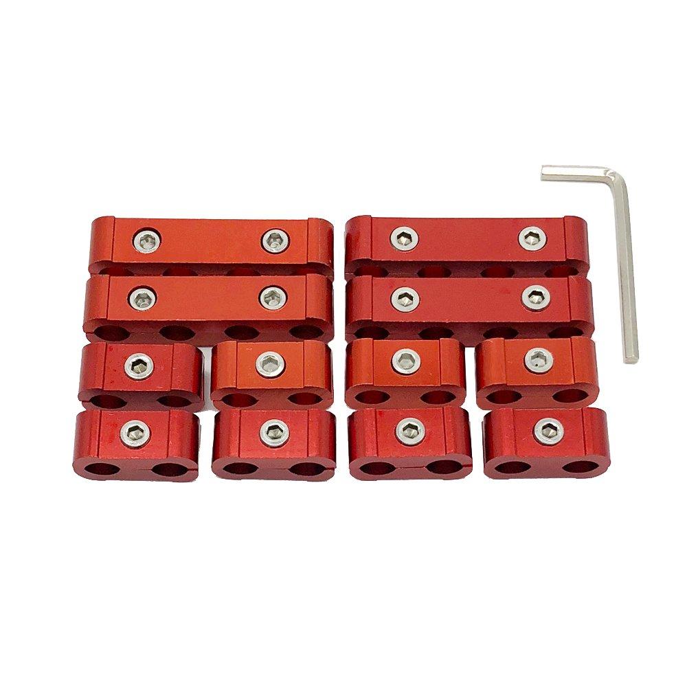 Ucreative 12pc Engine Spark Plug Wire Divider Separator Kit for 8mm 9mm 10mm Hangzhou Hesha Trade Co. Ltd