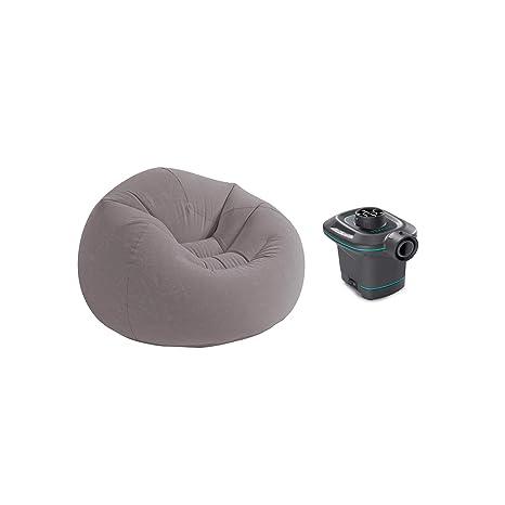 Amazon.com: Intex 120 V AC bomba de aire eléctrica y silla ...