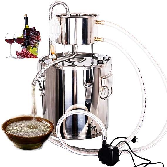 CLORIS 3Gal / 12L Destilador de Agua de Acero Inoxidable Kit de ...