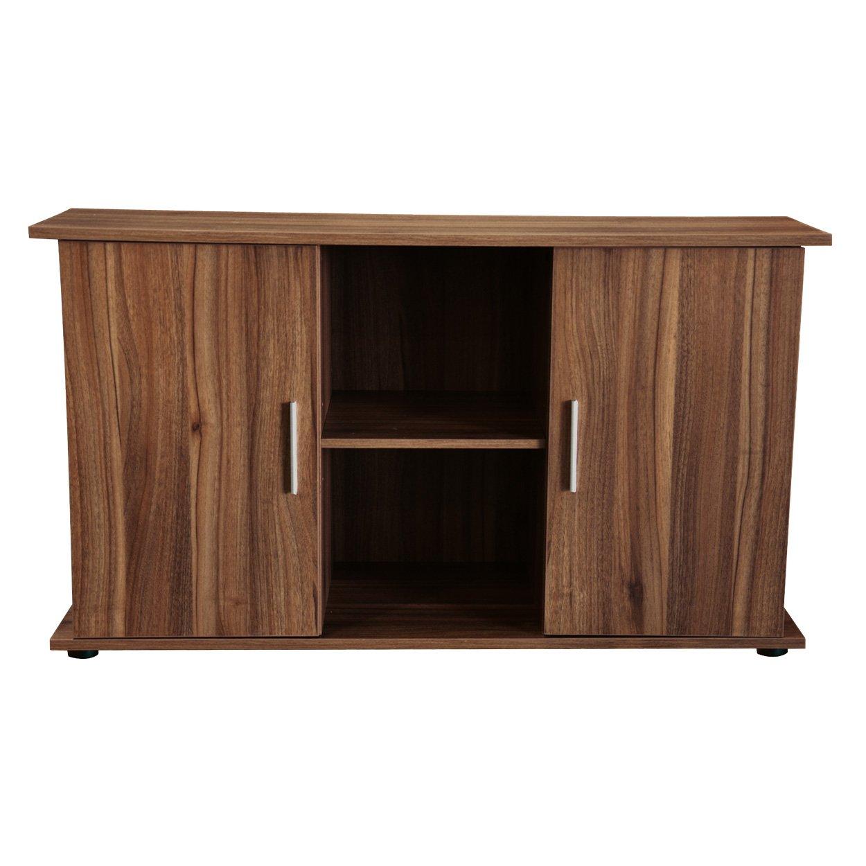 Seapora 52076 Empress Cabinet Stand, 48″ x 12″, Dark Oak