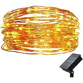 Amazon.com : Halloween Solar String Lights - Glowing