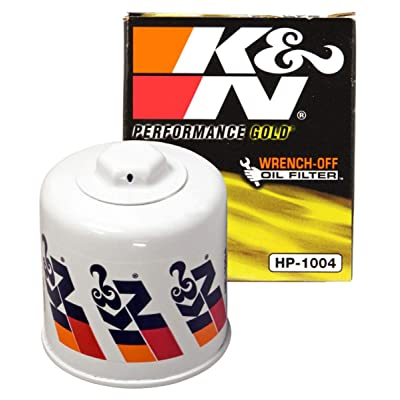 K&N Premium Oil Filter: Designed to Protect your Engine: Fits Select HYUNDAI/KIA/SUBARU/HONDA Vehicle Models (See Product Description for Full List of Compatible Vehicles), HP-1004: Automotive