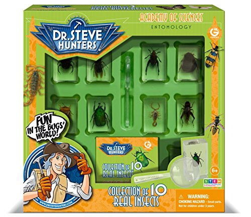 Uncle Milton Dr. Steve Hunters - Bugs World Collection -