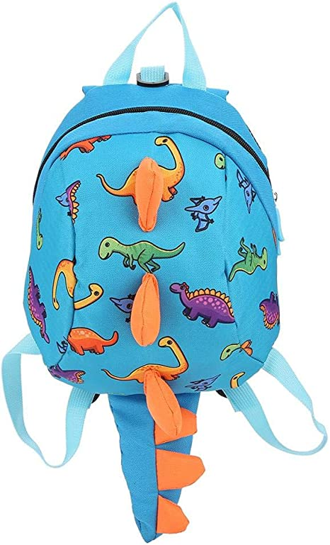 Mochila de dinosaurio Mochila para niños, mochila de dibujos ...