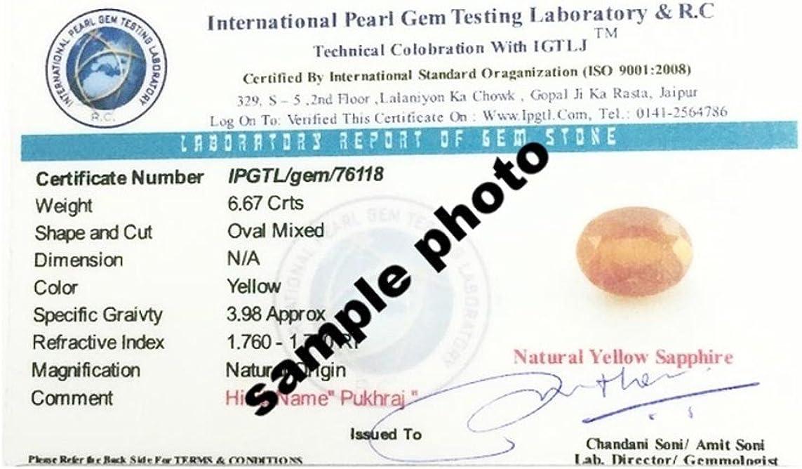 GEMS HUB Red Coral Moonga Lab Certified Natural 4.25-11.25 Ratti Moonga-Gemstone