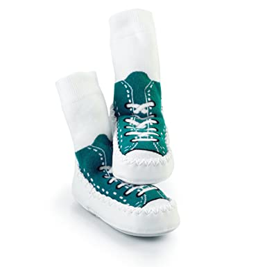 3fd807e0c729 Mocc Ons By Sock Ons TURQUOISE Sneaker size 2-3 Years Months - NEW DESIGN -  NEW SIZE!!  Sock Ons  Amazon.co.uk  Clothing