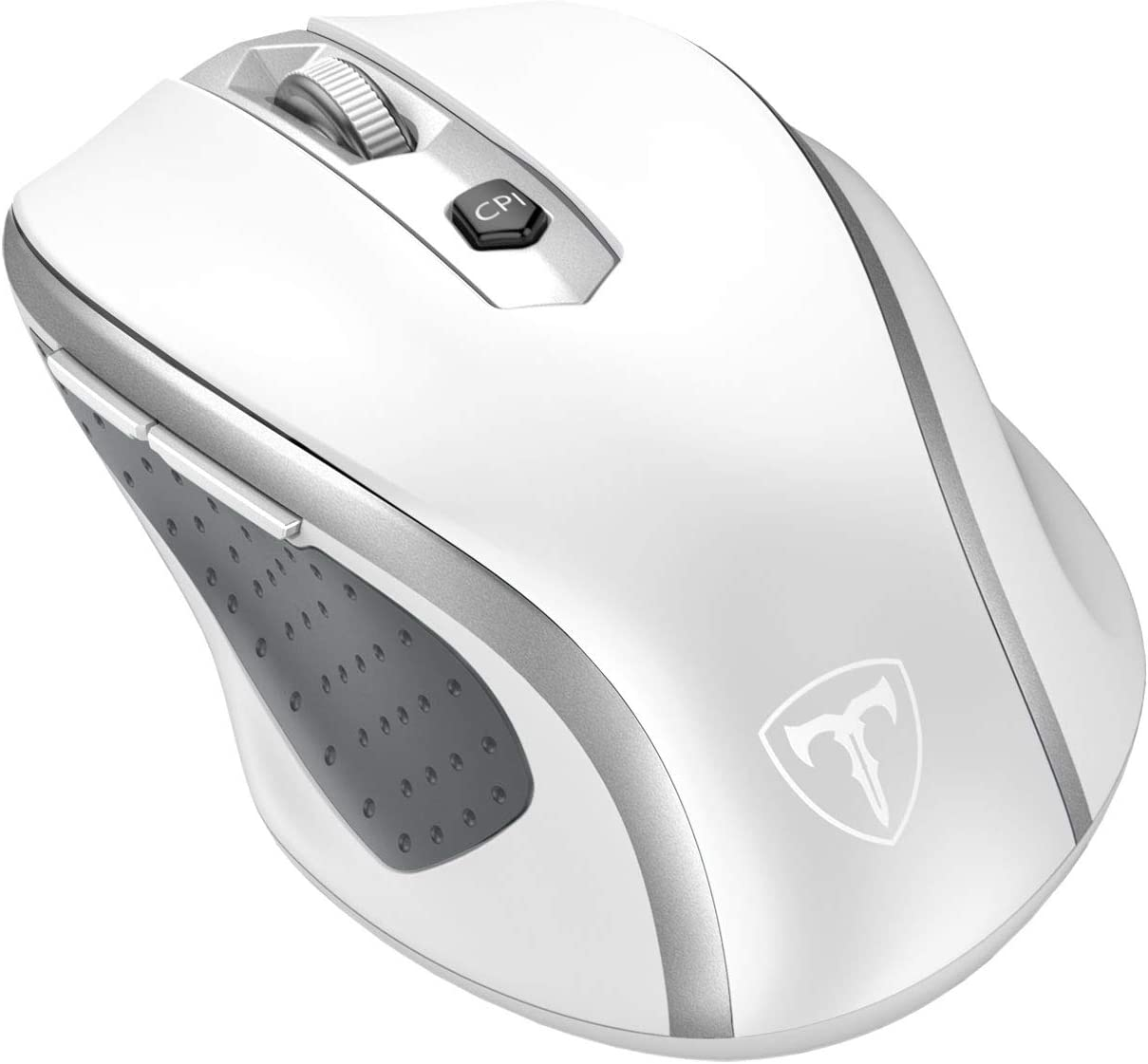 STPlus Letter Z Old English 2.4 GHz Wireless Mouse with Ergonomic Design and Nano Receiver