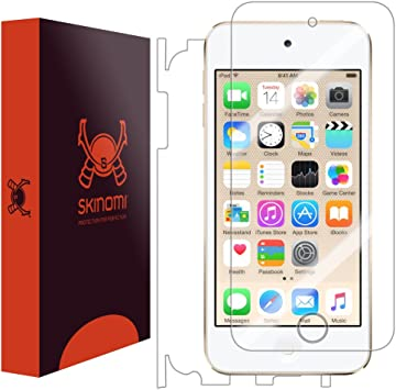 5th Generation Clear Screen Protector Skinomi TechSkin For Apple iPod Touch 5