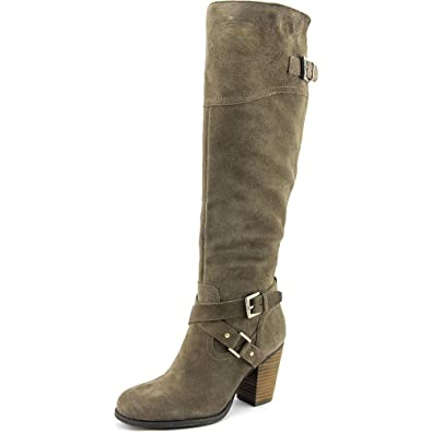 G by Guess Womens Wyynn Round Toe Knee High Fashion Boots Brown Size 7.5